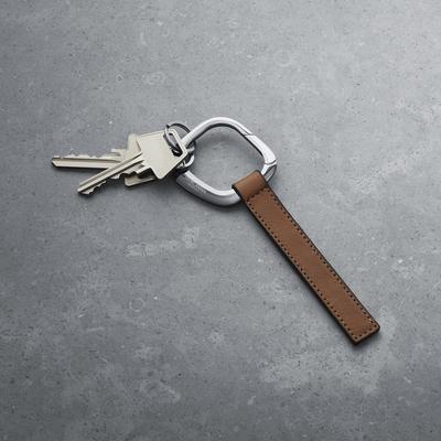 Georg Jensen 喬治傑生 - SQUARE 不鏽鋼鑰匙圈