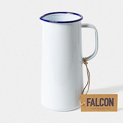 英國Falcon 獵鷹琺瑯 琺瑯3品脫冷水壺 1.7L 黑白