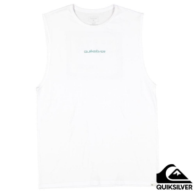 【QUIKSILVER】RETRO BEACH MUSCLE 背心 白色