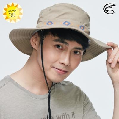 【ADISI】抗UV透氣快乾大盤帽AH20002 / 深卡其