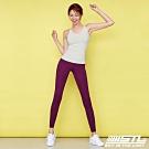 STL Leggings Free Line 9 訓練緊身拉提褲 自由曲線 深紫