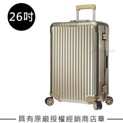Rimowa Original Check-In M 26吋行李箱 (鈦金色)