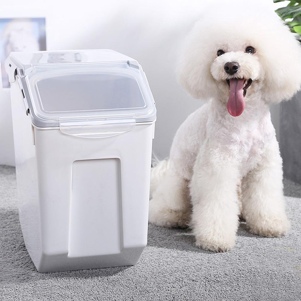 【Mr.Box】寵物飼料密封收納儲糧桶盒-大款