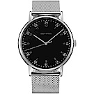 ISSEY MIYAKE三宅一生 F系列 個性時尚米蘭帶手錶(NYAJ702Y)