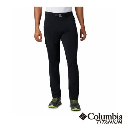 Columbia 哥倫比亞 男款- 鈦 涼感防潑防曬50長褲-黑色