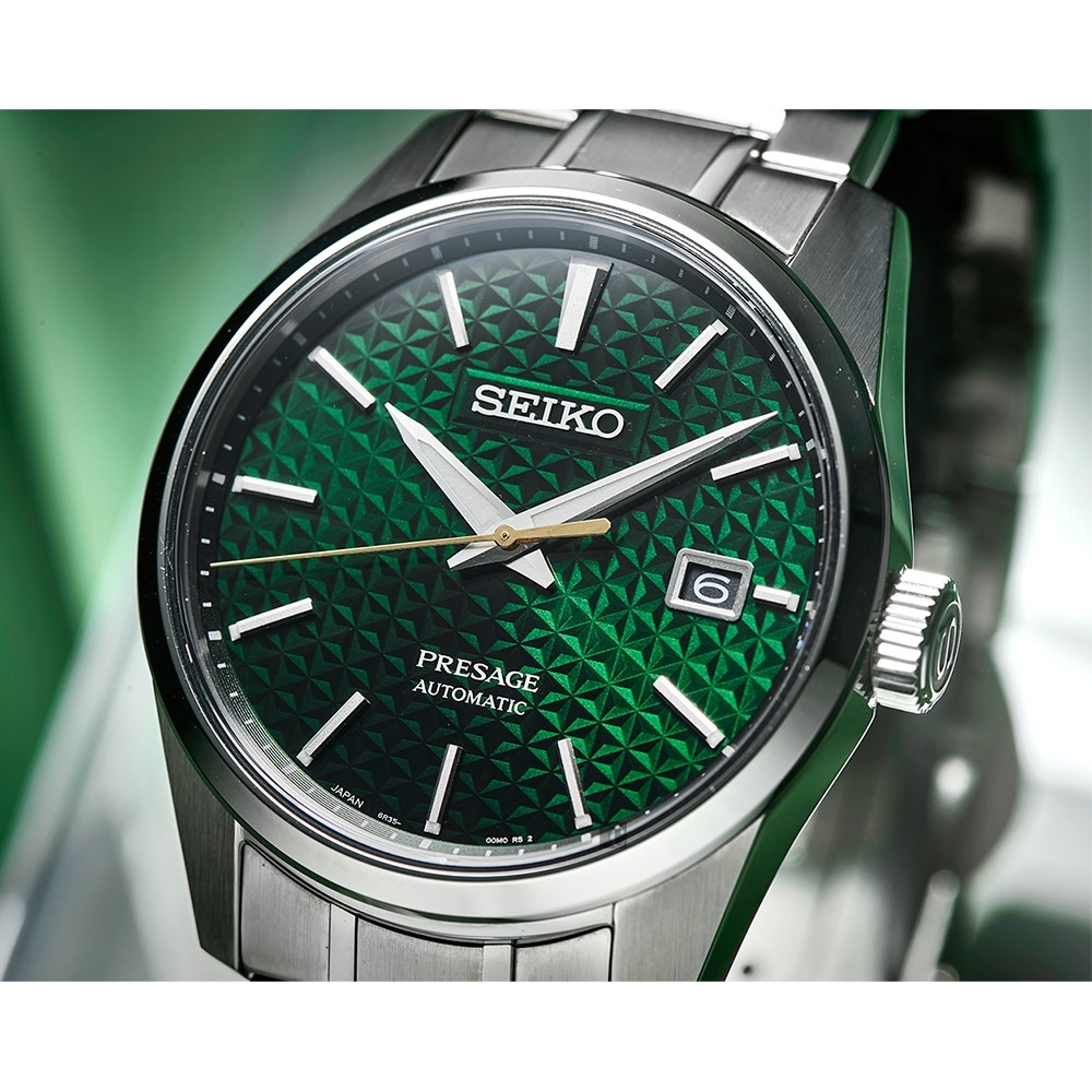 SEIKO精工 Presage 新銳系列機械錶(SPB169J1/6R35-00V0G)-39mm