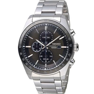 SEIKO 星際戰隊太陽能計時腕錶(SSC725P1)44mm