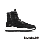 Timberland 男款黑色磨砂革靴|A28FK