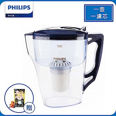 PHILIPS 飛利浦 超濾帶計時器 3.5L濾水壺(AWP2921)