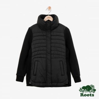 女裝Roots Journey 複合材質外套-黑色