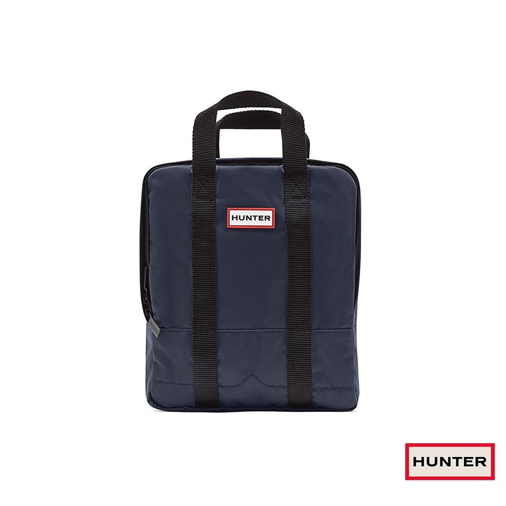 HUNTER - 大童-雙織帶後背包 - 海軍藍
