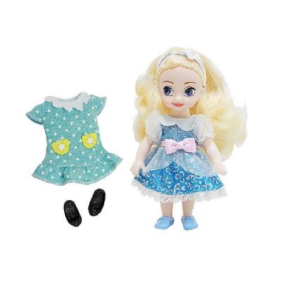 迪士尼 4吋迷你灰姑娘 仙杜瑞拉 Cinderella