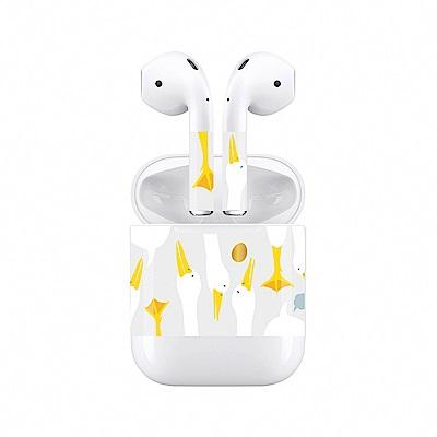 mogen AirPods 隨身耳機保護貼 鴨子款