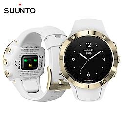 SuuntoSpartanTrainerWristHR全方位訓練的GPS運動腕錶-香檳金