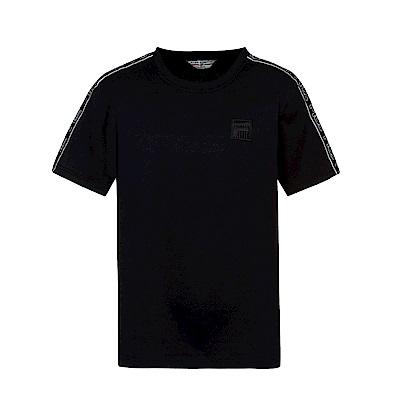 FILA #東京企劃-原宿篇 短袖圓領T恤-黑 1TES-5431-BK