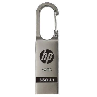 HP惠普 x760w 64GB USB 3.1 Gen1 金屬鉤環造型隨身碟