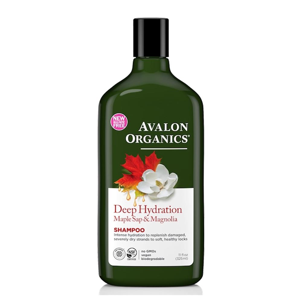AVALON ORGANICS 有機白玉蘭楓漿極潤洗髮精(325ml/11oz)