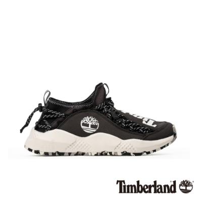 Timberland 男款NNH黑色尼龍織物防潑水防汙運動鞋|A1YVB