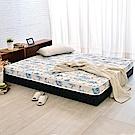 LooCa天絲12cm超薄型獨立筒床墊(雙人)