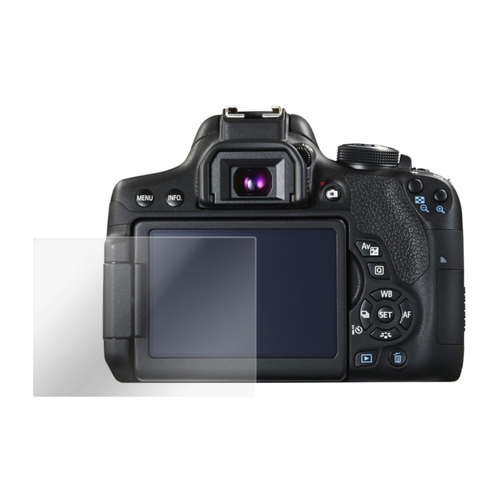Kamera 9H 鋼化玻璃保護貼 for Canon EOS 650D / 相機保護貼 / 贈送高清保護貼