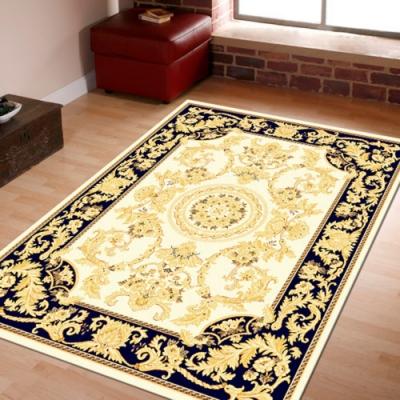 范登伯格 - 琥珀 進口地毯 - 鳳磐 (黑) (迷你款 - 70 x 105cm)