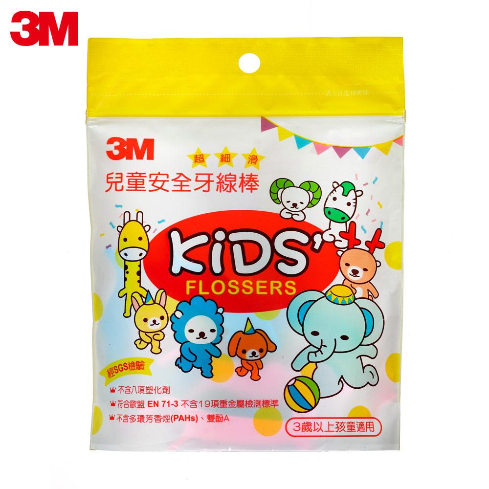 3M 兒童牙線棒(袋裝)