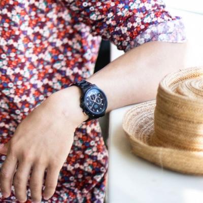 ALBA雅柏 街頭時尚計時手錶(AT3F31X1)45mm/VD53-X340SD