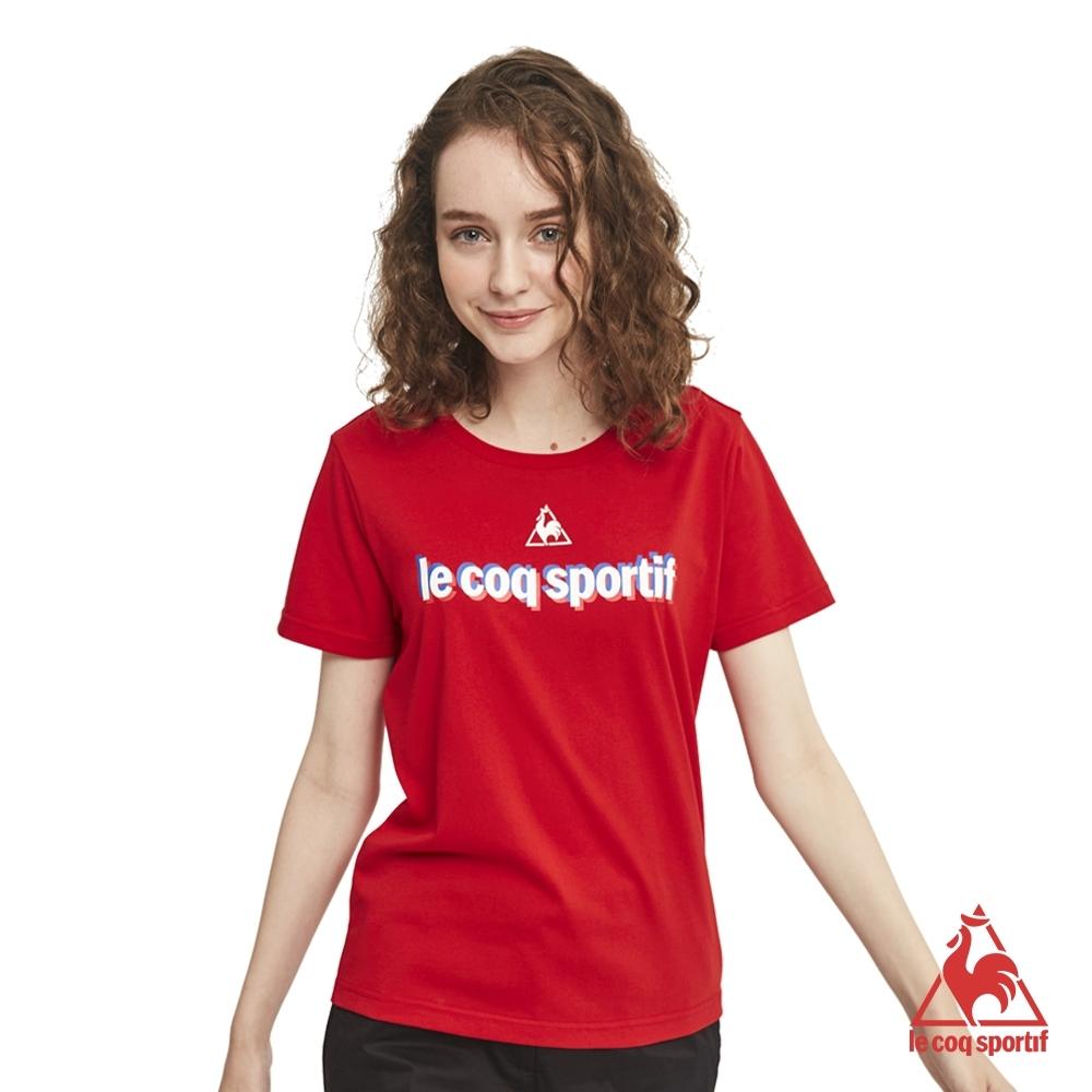 法國公雞牌短袖T恤 LON2310176-中性-紅