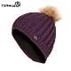 TERNUA 女美麗諾羊毛保暖毛帽2661653【深紫】 product thumbnail 1