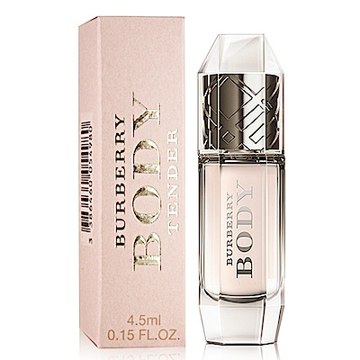 BURBERRY Body Tender清甜裸紗女性淡香水 4 . 5 ml