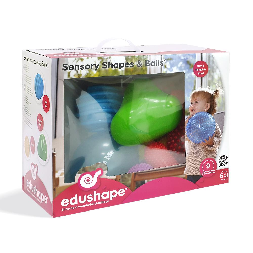 以色列 EDUSHAPE 豪華感官益智形狀球 (9入裝)