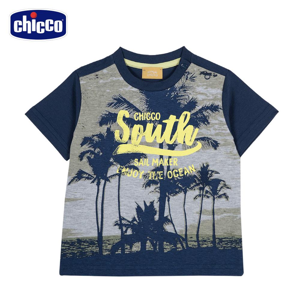 chicco-海岸之旅-短袖上衣-棕欖樹