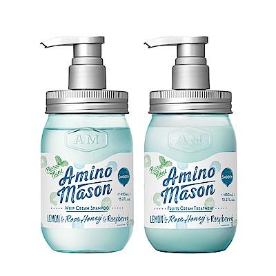 Amino Mason 時尚薄荷   胺基酸植物保濕洗潤組