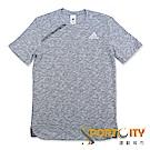ADIDAS 男 短袖上衣-CE6941-灰