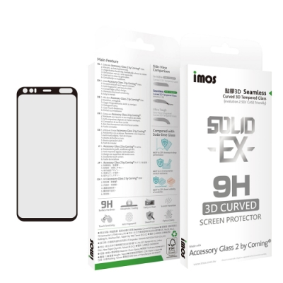 iMos Google Pixel 4 神極3D 滿版玻璃 螢幕保護貼