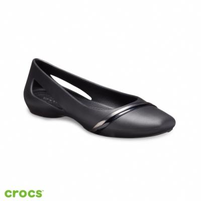 Crocs 卡駱馳 (女鞋) 思瓏金屬設計女士平底鞋 205994-988