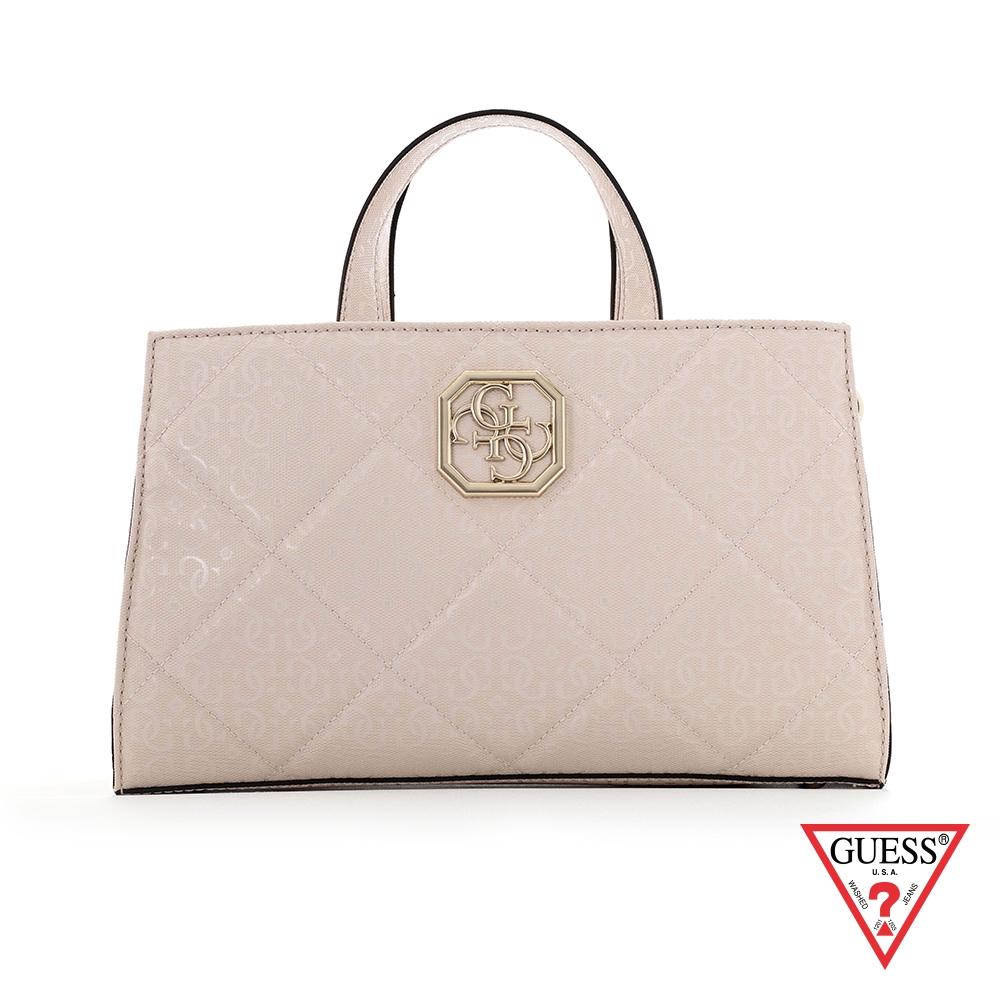 GUESS-女包-菱格時尚肩背手提包 原價3290