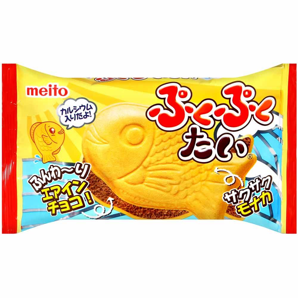 名糖 鯛魚造型巧克力餅乾(16.5g)