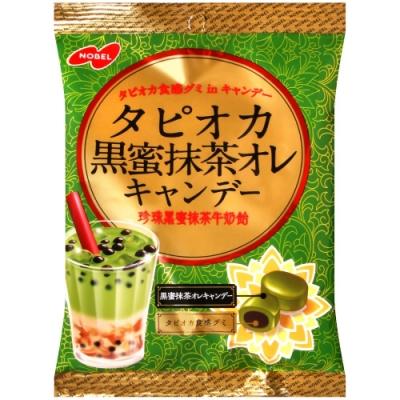 NOBEL 黑蜜抹茶歐蕾風味糖(90g)