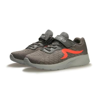 【ZEPRO】SKR潮感速度輕量運動鞋(中童)-灰