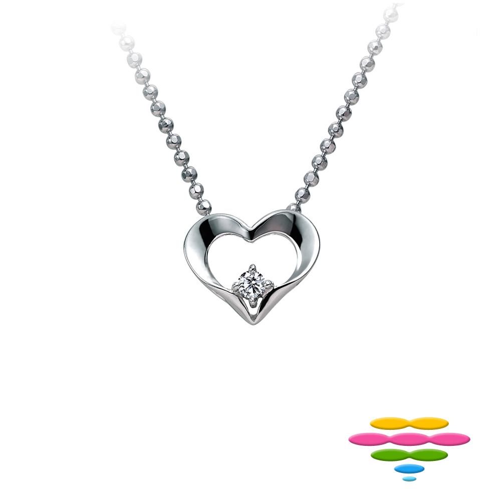 彩糖鑽工坊 愛心鑽石項鍊 (3選1) 心有獨鍾系列 product image 1