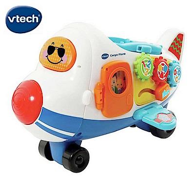 【Vtech】嘟嘟車系列-酷炫巨無霸飛機軌道組