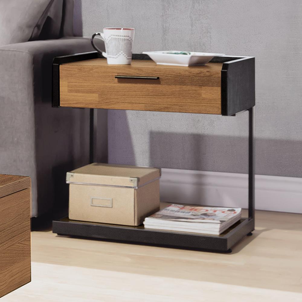 Boden-卡諾斯1.8尺小茶几/邊桌(三色可選)-54x40x50cm