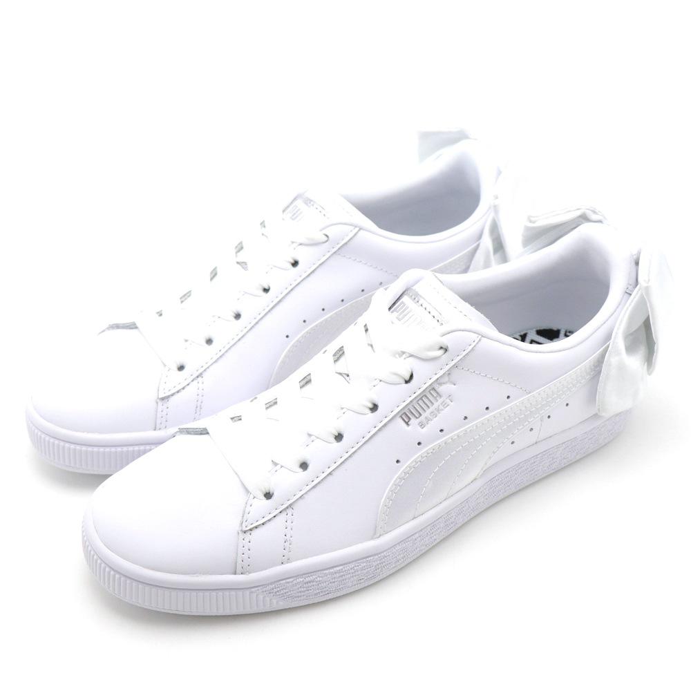 PUMA Basket Bow Wns 女休閒鞋 36731901 白色