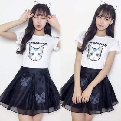 【韓國K.W.】(預購)魅力佳人時尚套裝裙-2色