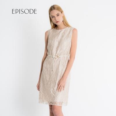 EPISODE - 優雅精緻刺繡蕾絲無袖洋裝