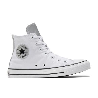 CONVERSE CTAS HI 高筒 基本款 百搭 兩色拼接 休閒鞋 女 白 570287C