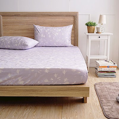 MONTAGUT-雪紡大地-300織紗精梳棉緹花三件式床包組(雙人)