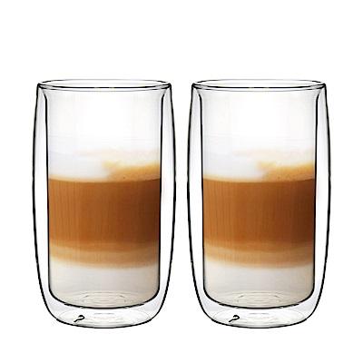 FUSHIMA富島 英倫系列雙層耐熱玻璃杯450ML*2入