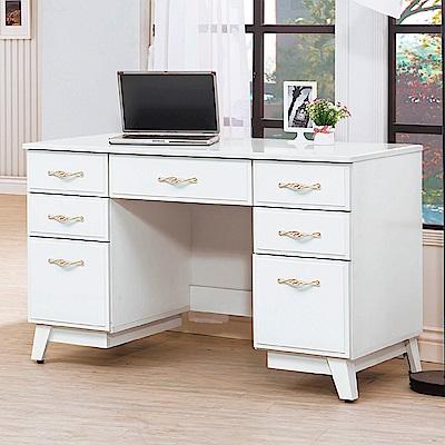 AS-山姆烤白4尺書桌-120x58x76cm
